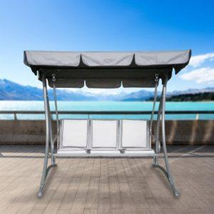 נדנדה מפוארת 3 מקומות מושבים מרופדים
