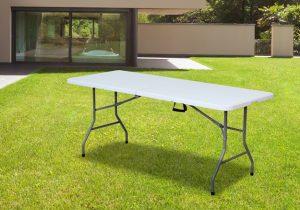 שולחן מתקפל פלסטיק 1.8
