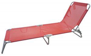 מיטת שיזוף אדום