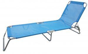 מיטת שיזוף כחול בהיר
