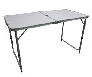 שולחן אלומיניום 1.20