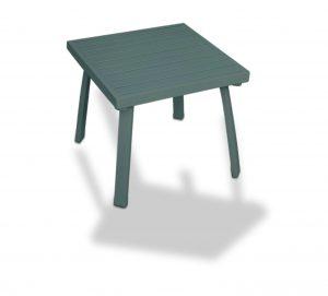 שולחן למיטת שיזוף  אפור כהה