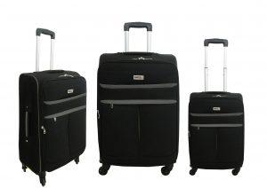 שלשיית מזוודות בד 20+24+28 1320 שחו