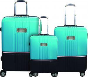 שלישית מזוודות טומי הילפיגר טורקיז
