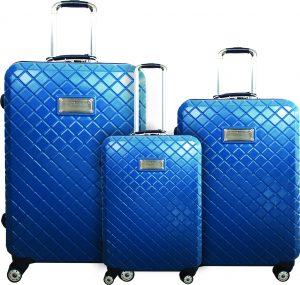שלישית מזוודות טומי הילפיגר כחול