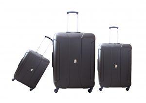 שלישית מזוודות דלסי אפור 3578