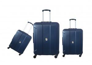 שלישית מזוודות דלסי כחול 3578