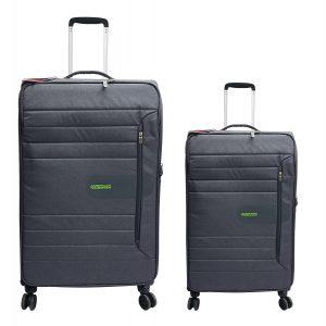 זוג מזוודות 8292 שחור אמריקן טוריסטר