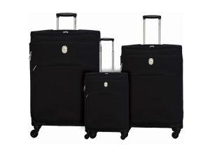 שלישיית מזוודות דלסי שחור 3429