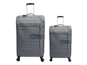 זוג מזוודות 8292 אפור אמריקן טוריסטר