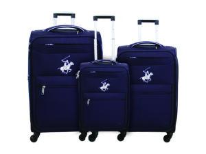שלישיית מזוודות פולו 2600 סגול/כסף