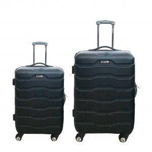 זוג מזוודות 1385 שחור