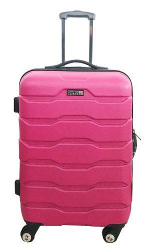 מזוודה בודדות 1385 ABS ורוד