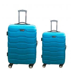 זוג מזוודות 1385 טורקיז