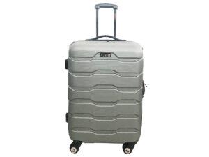 מזוודה בודדות 1385 ABS כסף