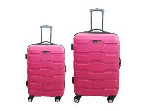 זוג מזוודות 1385 פוקסיה