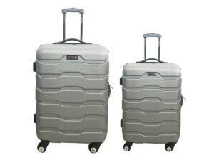 זוג מזוודות 1385 כסף