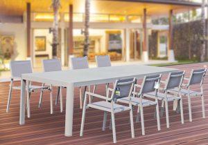 פינת אוכל פיראוס-שולחן +8 כסאות