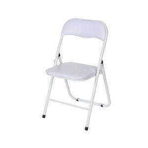 כסא מתקפל לבן