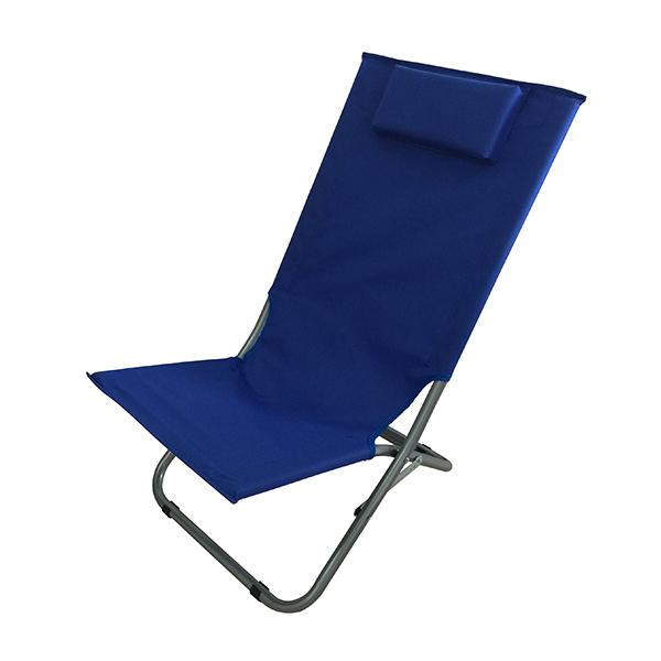 כסא חוף עם כרית