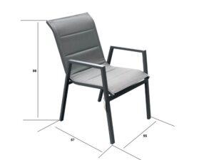 כסא בד כפול