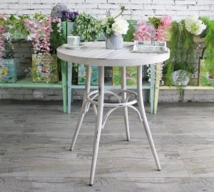 שולחן עגול וינטג'