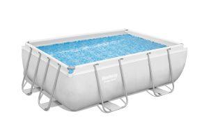בריכת שחייה מלבנית אולטרה BESTWAY 282*196*84 דגם 56629