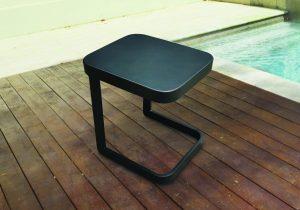שולחן למיטת שיזוף טיפאני צבע אפור