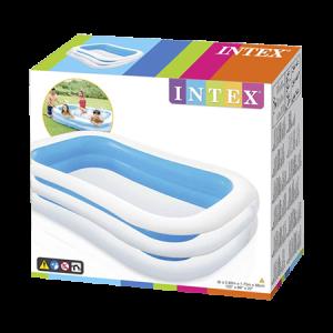 בריכה משפחתית מלבנית INTEX 56483