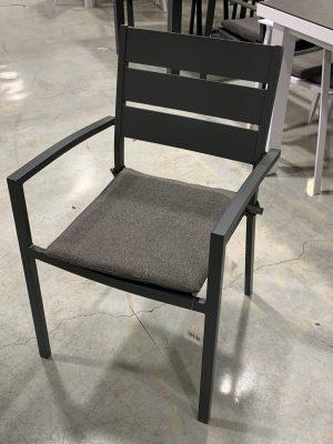 כסא בוורלי אפור