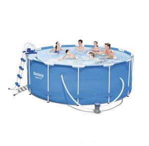 בריכת שחייה ביתית צינורות 3.66×122 דגם 56420 BESTWAY