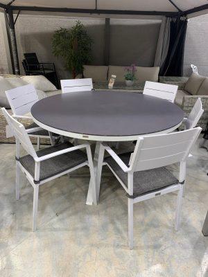 פינת אוכל נקסוס עם 6 כסאות בוורלי