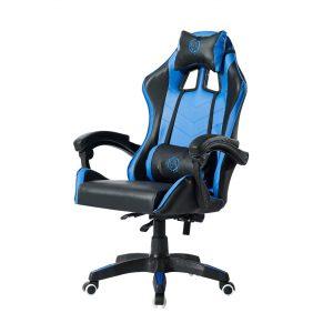 כיסא גיימינג מקצועי שחור וכחול