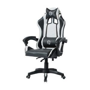 כיסא גיימינג מקצועי שחור ולבן