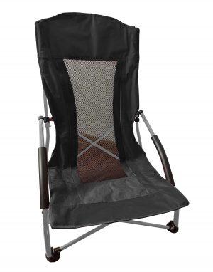 כסא ים פרימיום שחור