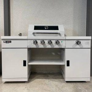 מטבח גז מיני פרמיום 4+1 צבע לבן
