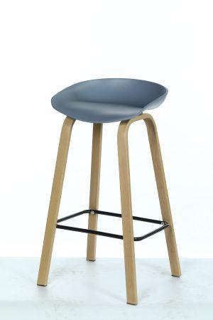 כסא בר אתונה אפור