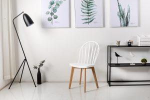 כסא דייזי לבן