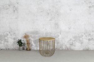 שולחן פיזה זהב